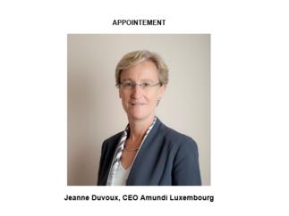 Amundi appoints  Jeanne Duvoux as CEO of Amundi Luxembourg