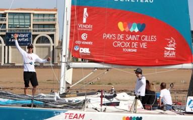 Thomas Cardrin, skipper Team Vendée Formation