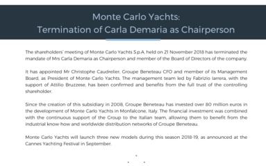 181121 BENETEAU Termination as President C Demaria_Monte Carlo Yachts EN.pdf