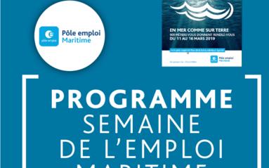 Programme Semaine de l'emploi maritime 2019