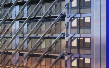 Campuséa Rose de Cherbourg _ South East facade