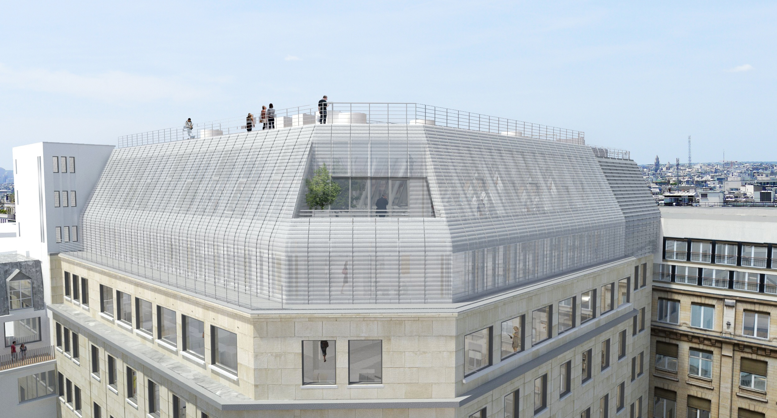 7 rue de Madrid_Paris 8th_Rooftop