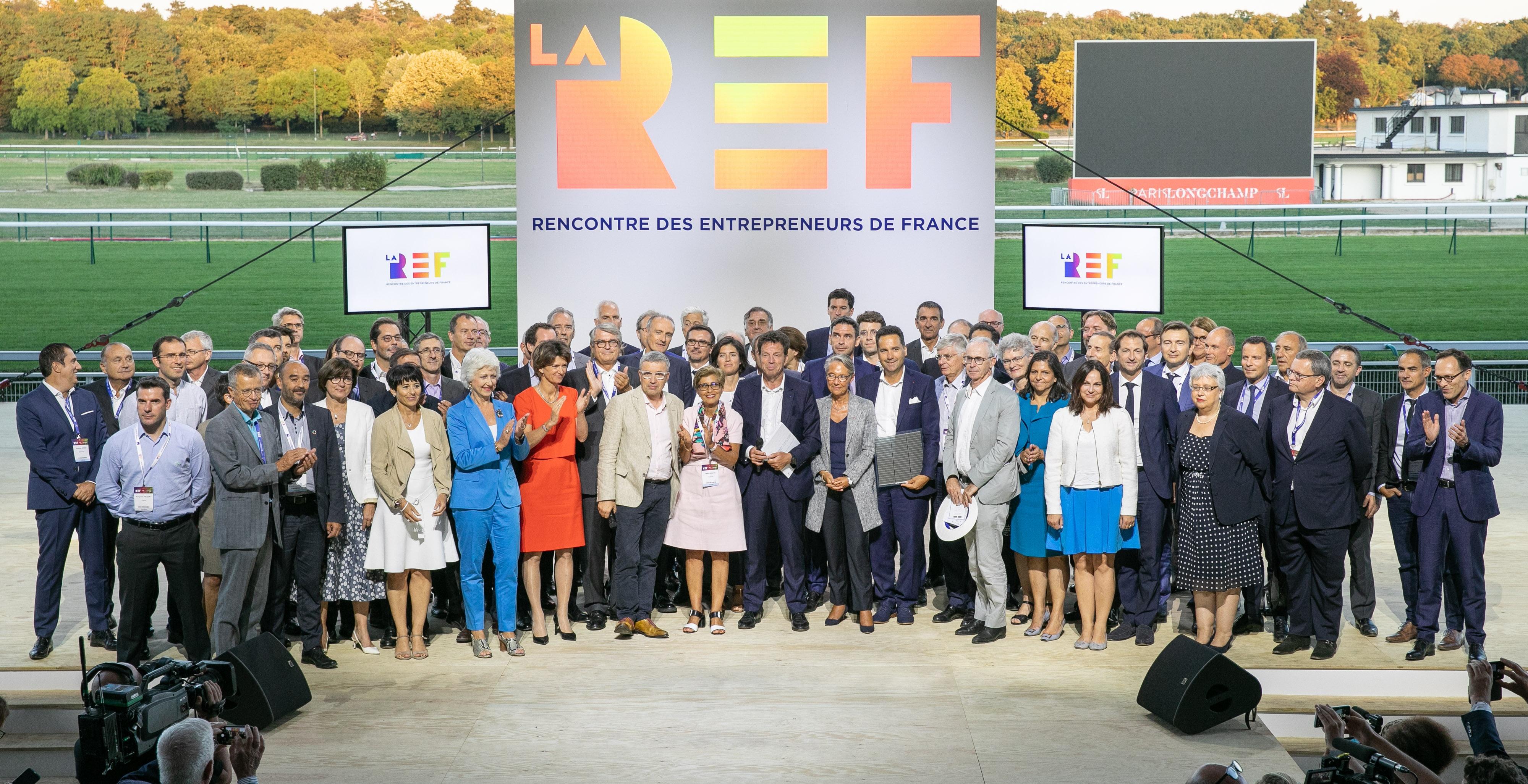 Séquence de clôture de la Rencontre des entrepreneurs de France 2019