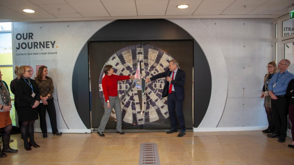 Eurotunnel inaugure son « history room » sur son terminal de Folkestone