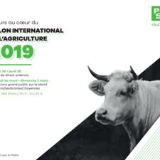 CP Salon de l'agriculture 2019