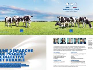Plaquette et infographies France Terre de lait
