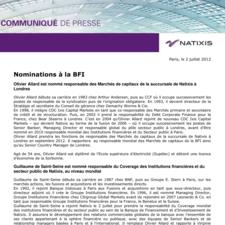 Nominations à la BFI