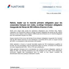 091028_Emission Havas_Natixis CP.pdf