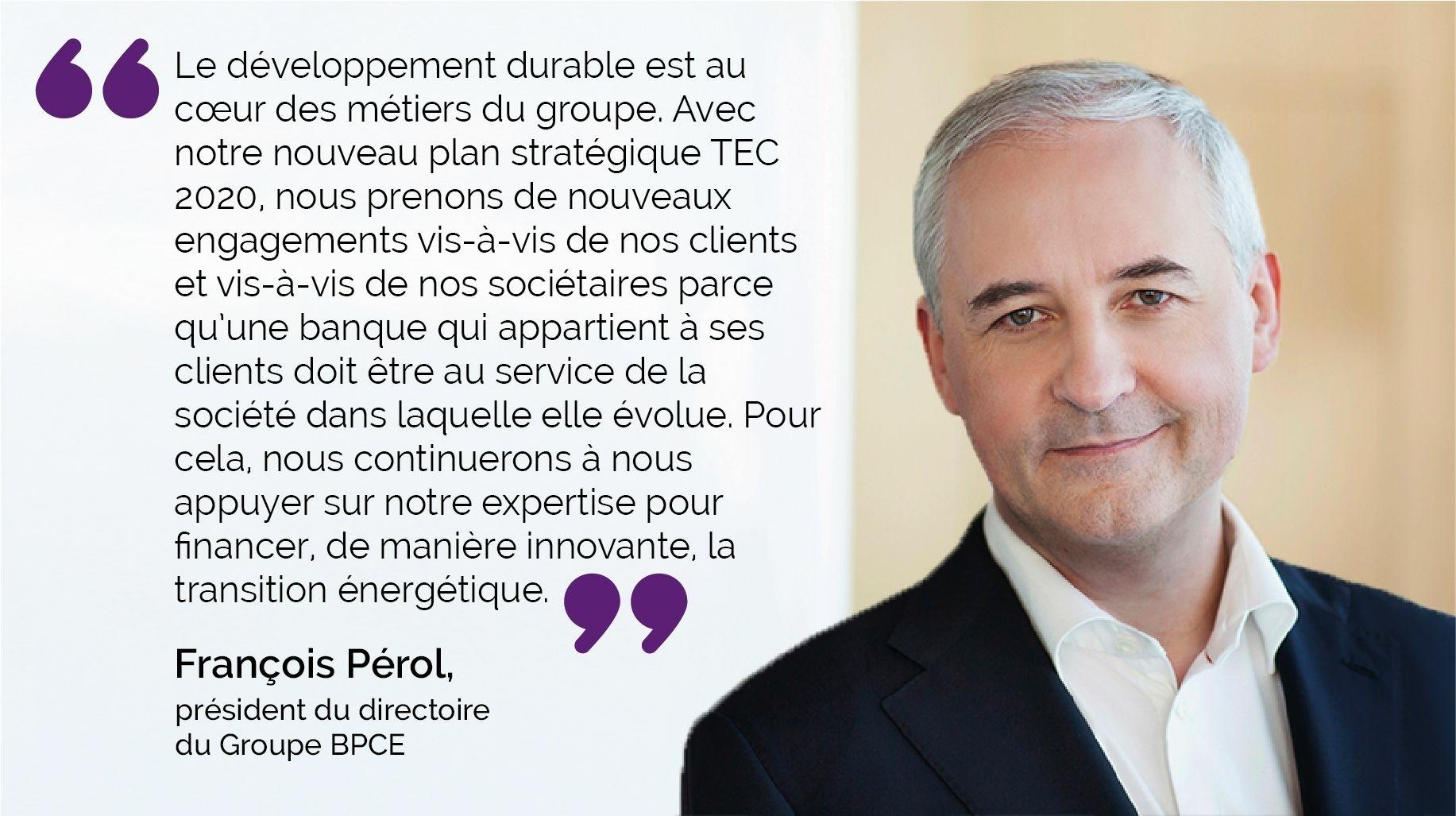 [Verbatim] François Pérol Finance verte