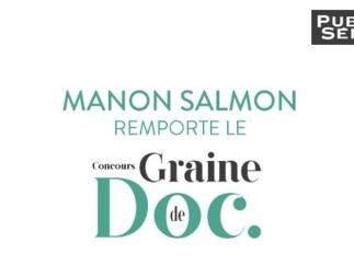 Manon Salmon remporte le concours Graine de Doc
