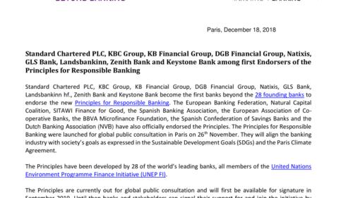 PDF - Standard Chartered PLC, KBC Group, KB Financial Group