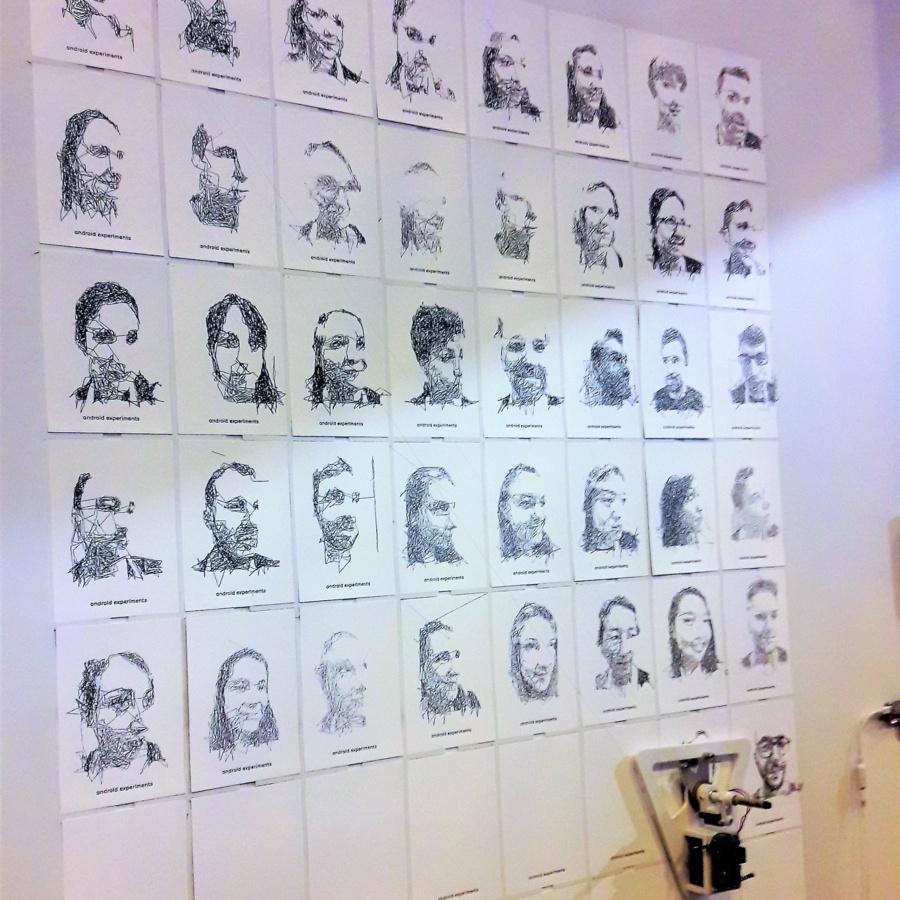 Les portaits dessinés par l'AI de Google