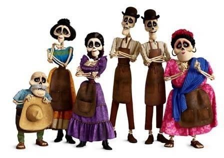 Coco Decouvrez La Galerie De Personnages Du Disney Pixar De Noel