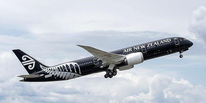 Airplane Air New Zealand