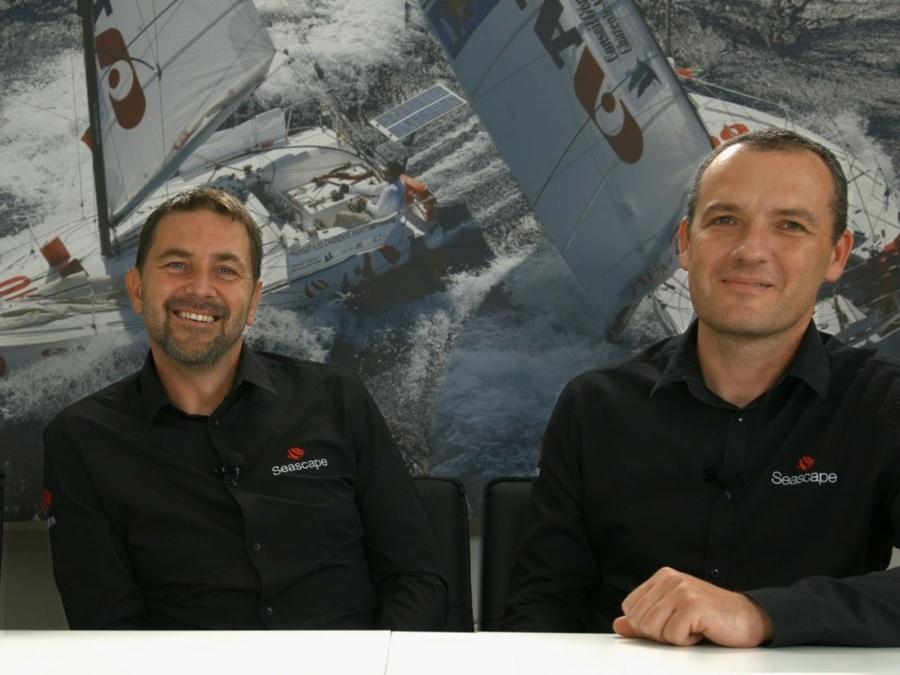 Les fondateurs de Seascape: Kristian Hajnsek et Andraz Mihelin