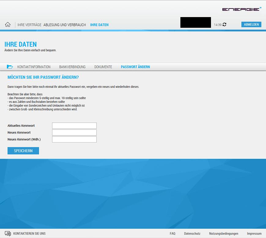 Um Dein Passwort Zu ändern, Musst Du Dich Beim Online Servicecenter  Anmelden. Im Menü Kannst Du Unter U201eIhre Datenu201c Ein Neues Passwort Vergeben.