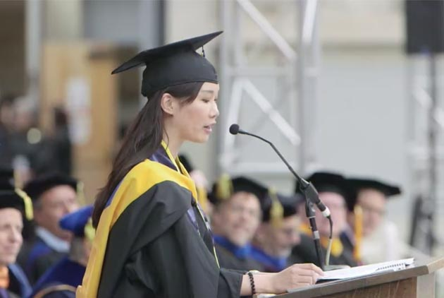 The First Taiwanese Commencement Speaker of UC Berkeley