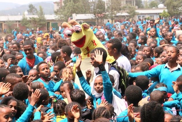 How a Giraffe Puppet Can Change the World