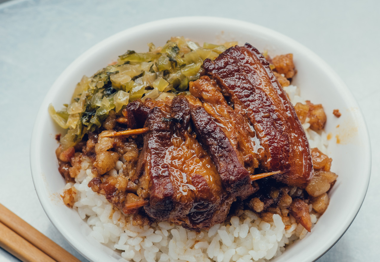 In Appreciation Of Taiwans National Dishbraised Pork Rice