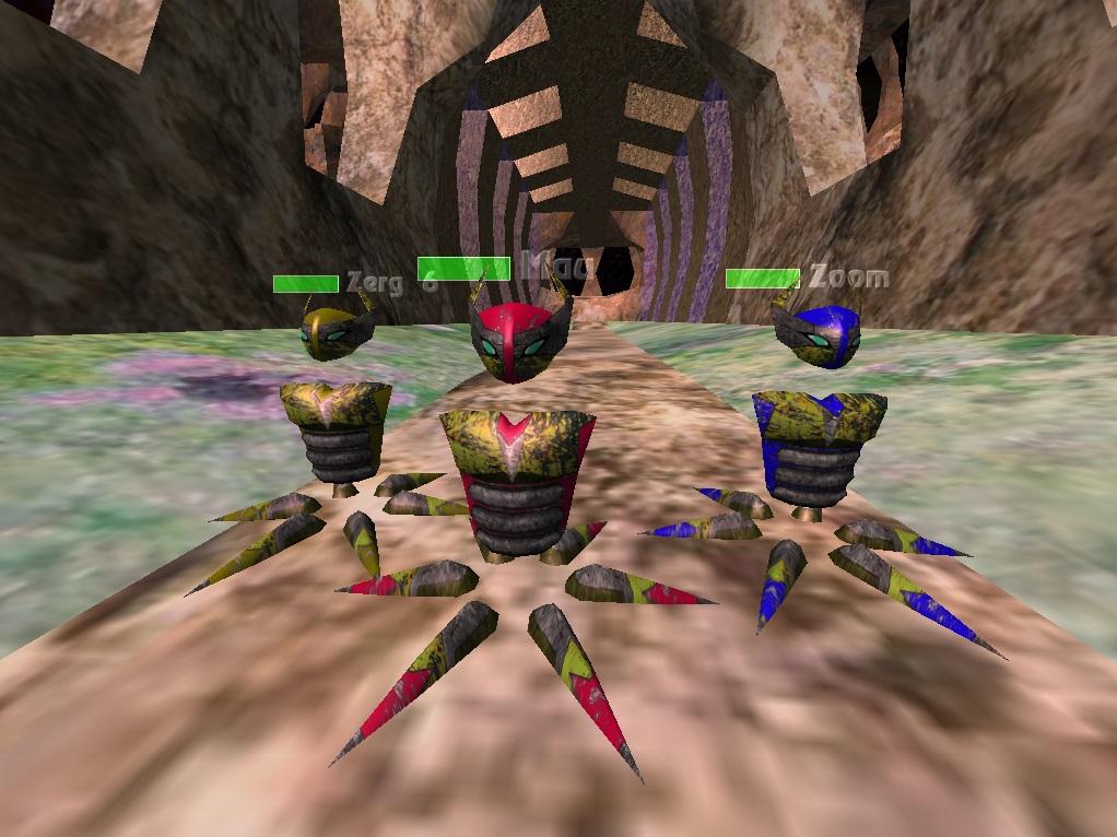 Avoyd 1999 v1.3 screenshot Aspireation world three Metalscratch skin avatars