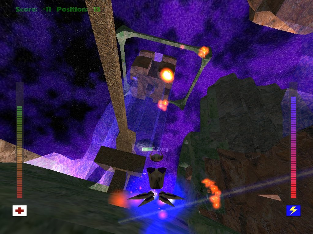 Avoyd 1999 v1.5 screenshot Jade Temple world transparent tower