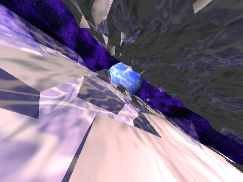 Avoyd 1999 v1.6 screenshot water, ice and planet