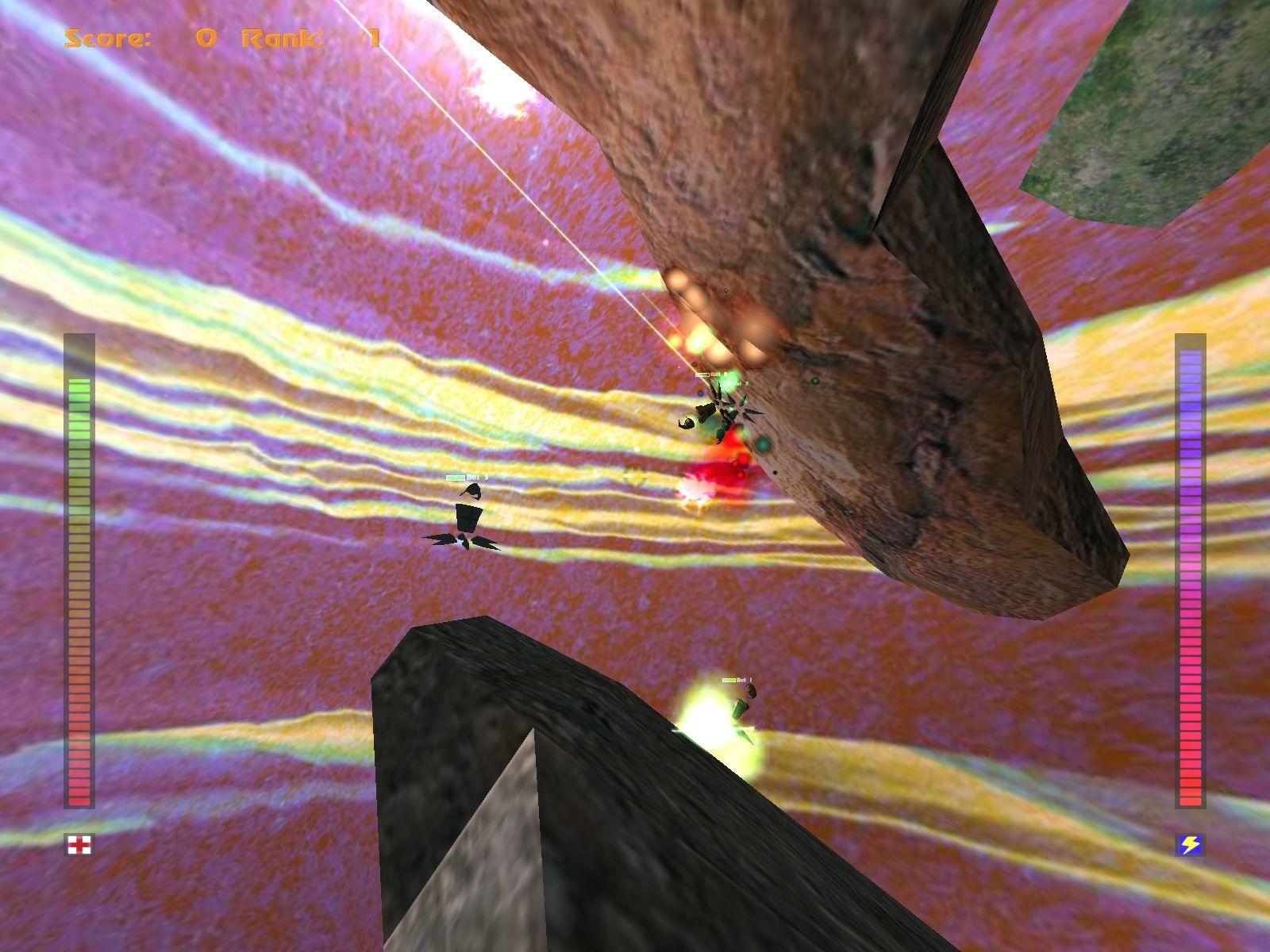 Avoyd 1999 v1.6 screenshot Ringworld skies LAN multiplayer