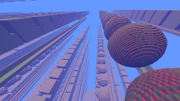 Avoyd screenshot - large world