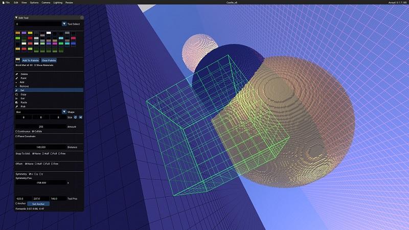 Avoyd v0.1.7 screenshot - improved Edit tool cursor
