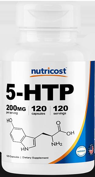 5-HTP Capsules-120 capsules (200mg)