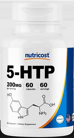 5-HTP Capsules-60 capsules (200mg)
