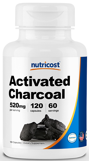 Activated Charcoal-120CAPS