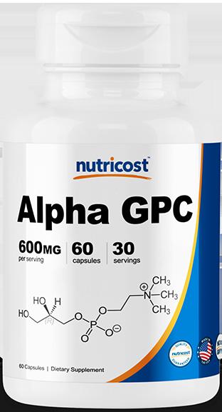 Alpha GPC-60 Caps