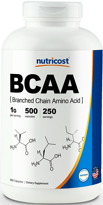 BCAA Capsules-500 capsules