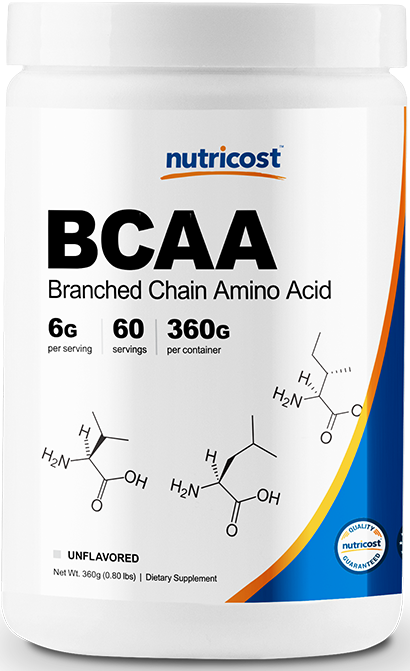 BCAA (2:1:1) Unflavored Powder-60 Servings