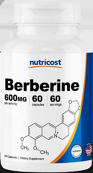 Berberine HCL-60 capsules (600mg)