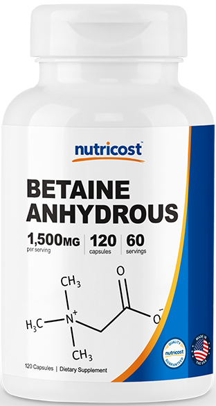 Betaine Anhydrous-120 capsules