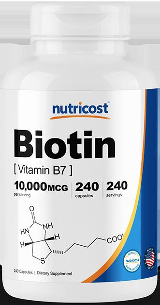 Biotin (Vitamin B7)-240 capsules