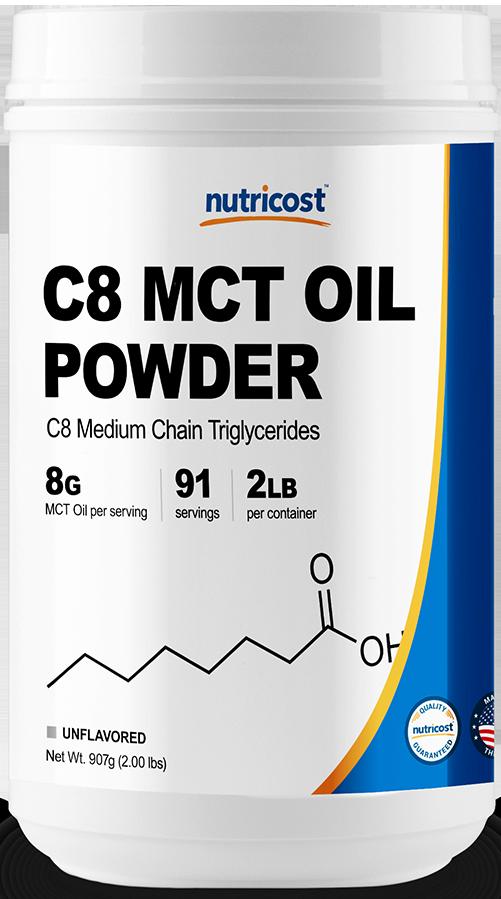 C8 MCT OIL Powder-2.0 lbs