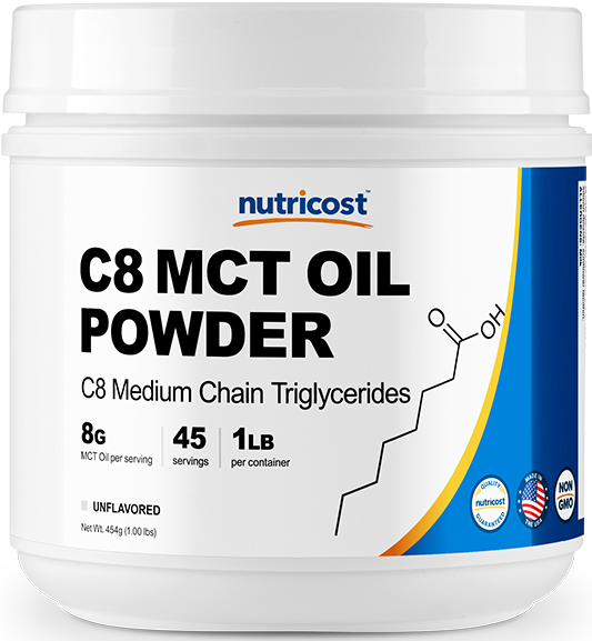 C8 MCT OIL Powder-1.0 lbs