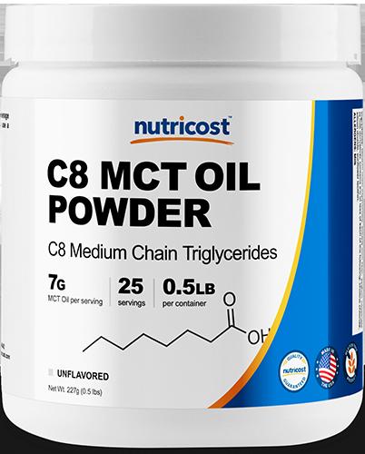 C8 MCT OIL Powder-0.5 lbs
