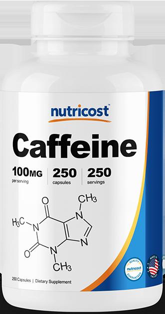 Caffeine-250 capsules (100mg)