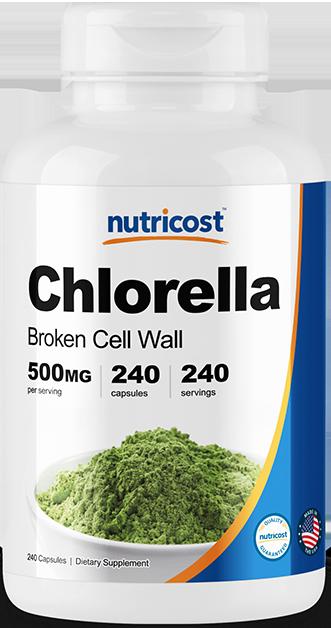 Chlorella-240 capsules