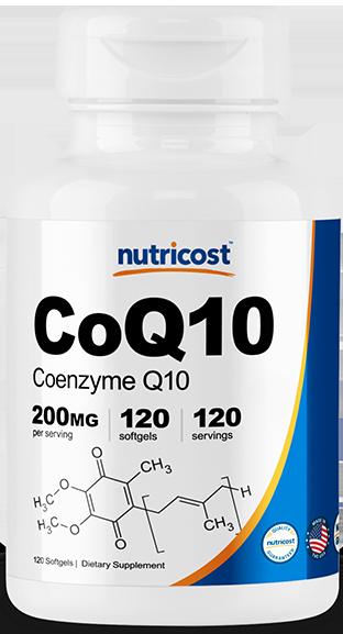 CoQ10 (Softgel Caps)-120 capsules