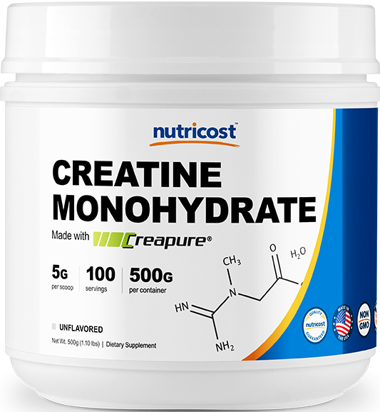 Creatine Monohydrate With Creapure® -500g