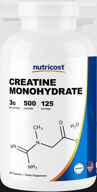 Creatine Monohydrate-500 capsules
