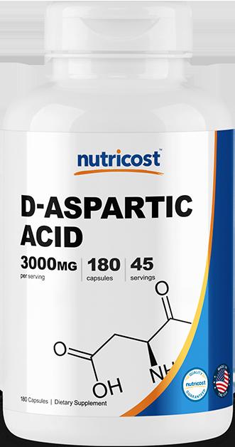 D-Aspartic Acid-180 capsules