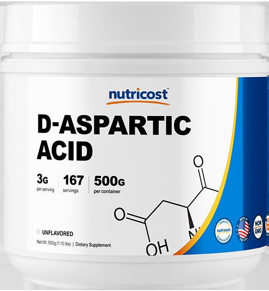 D-Aspartic Acid-500g