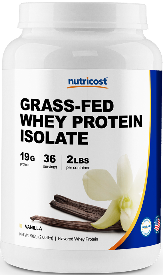 Grass-Fed Whey Protein Isolate-2 LB