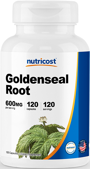 Goldenseal Root-120 Caps (600mg)